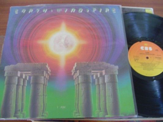 EARTH WIND & FIRE - I AM - CBS UK 1979